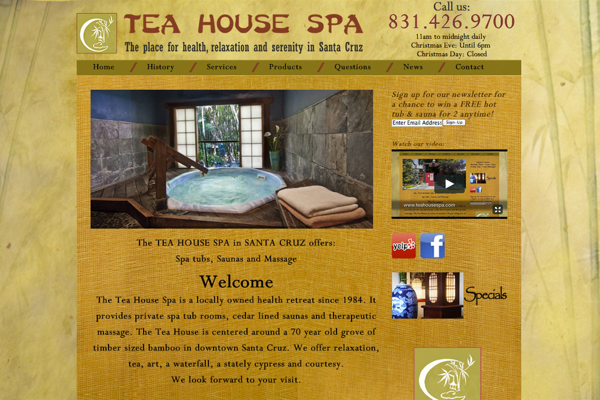 Tea House Spa - Iversen Design on cedar shed design, cedar home design, cedar greenhouse design,