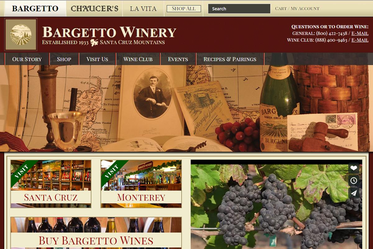 Website Design Winery Santa Cruz