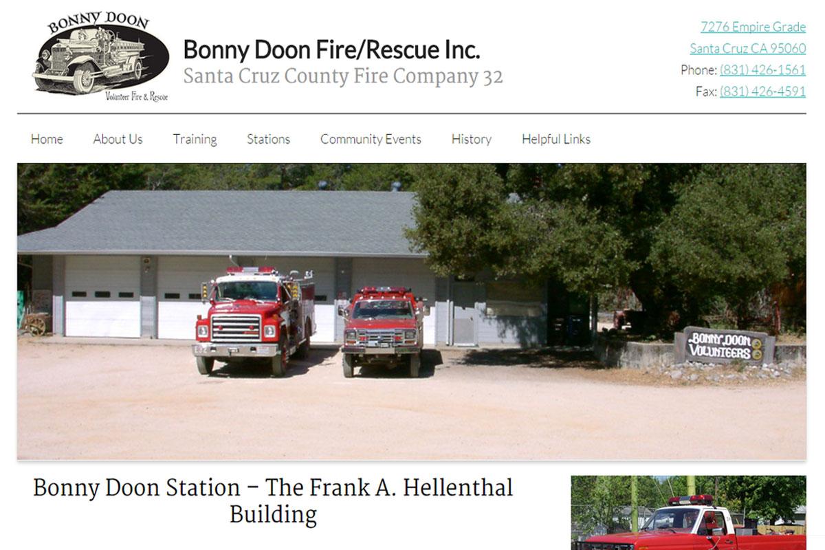 bonny-doon-fire-site