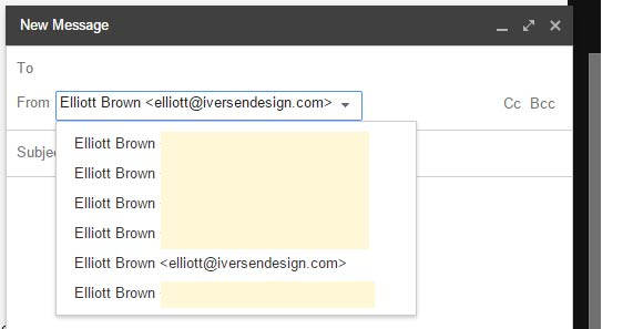 Other email alias be sure your other email is forwarding to your gmail
