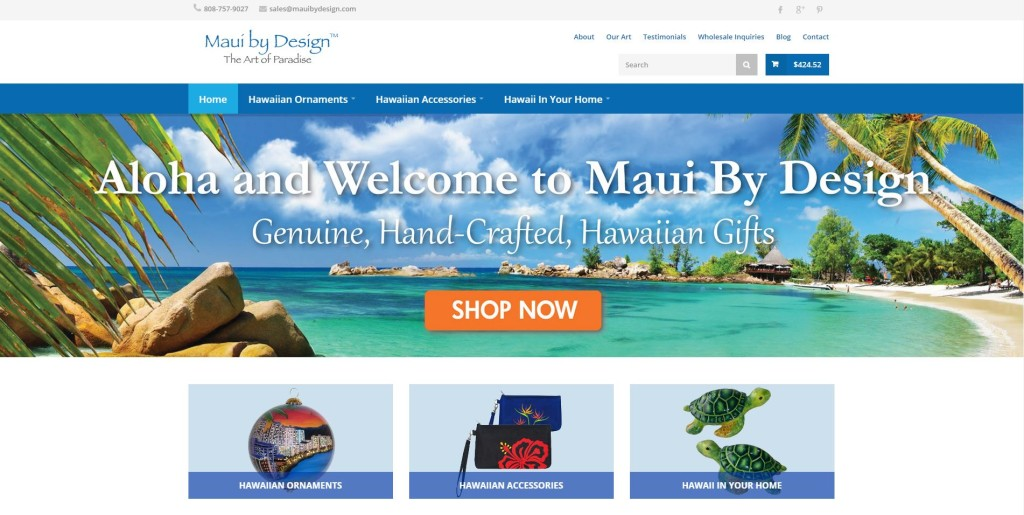 maui by design website