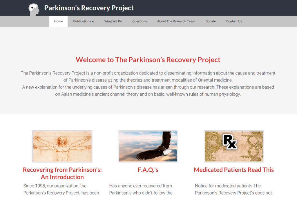 parkinson recovery project
